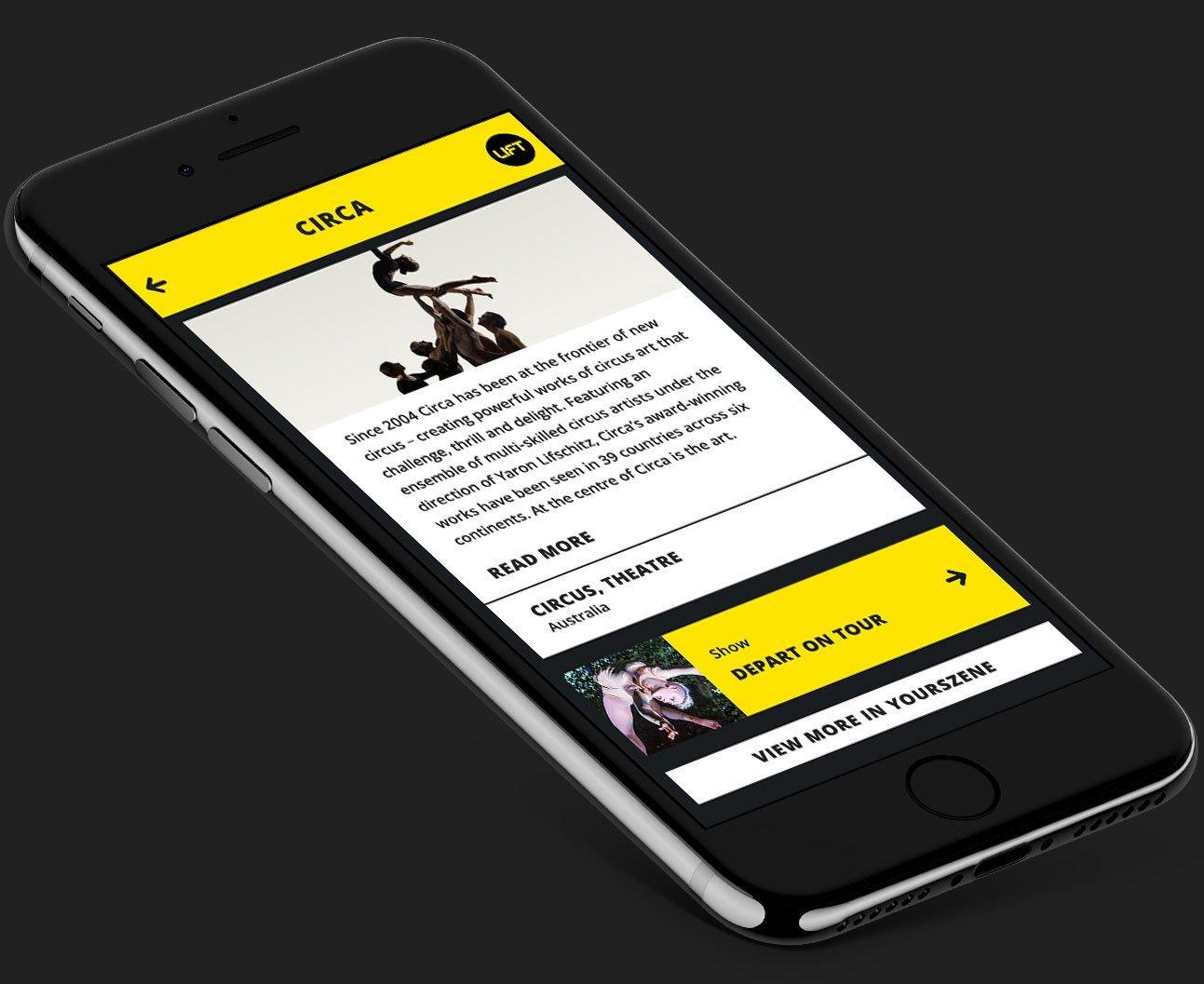 Una solución definitiva para eventos de teatro grandes y pequeños. Sorprende a los asistentes del festival con una App fácil de utilizar