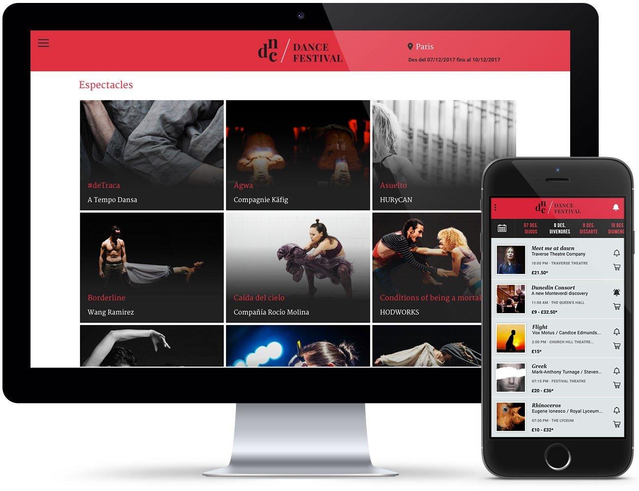 Tota la programació del festival de teatre disponible als mòbils dels aficionats de les Arts Escèniques