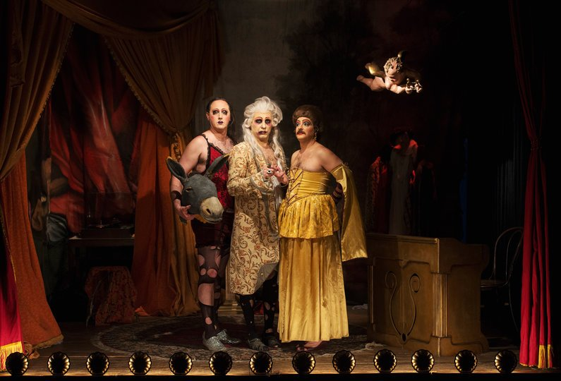 Galería de imágenes 1: Representación nocturna del Marqués de Sebregondi