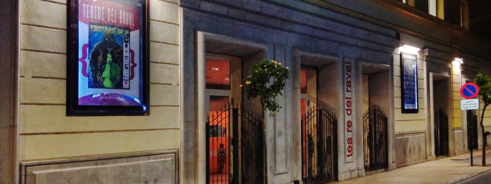 Teatre del Raval, localització per a la representació d'espectacles