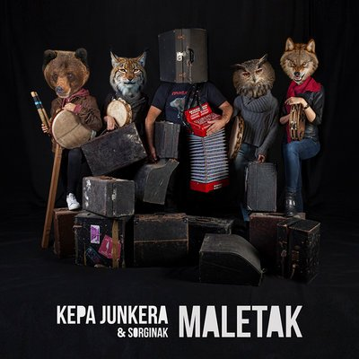 Cover image of the show: Kepa Junkera & Sorginak