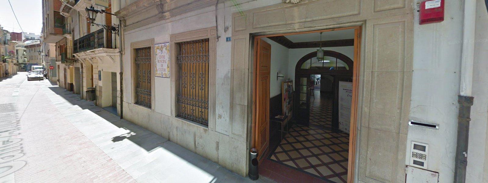 Centre municipal de cultura de Castelló, localització per a la representació d'espectacles