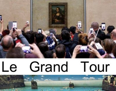 Cover image of the show: Le Grand Tour