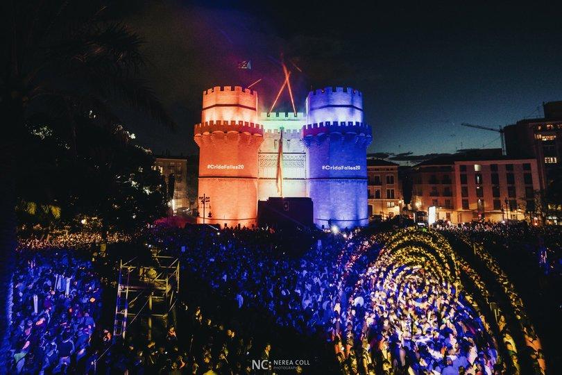 """Image gallery 27: CRIDA DE LES FALLES DE VALÈNCIA 2020 """"PÓLVORA I FOC!"""""""