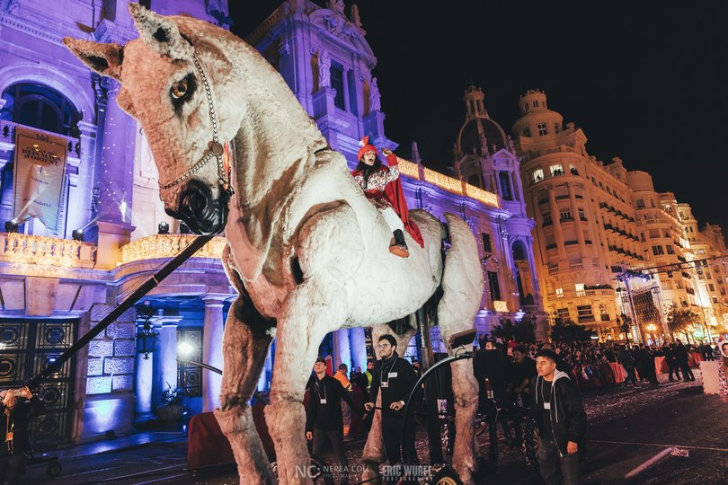 Image 10 of the Cabalgata Reyes Magos 2020 gallery