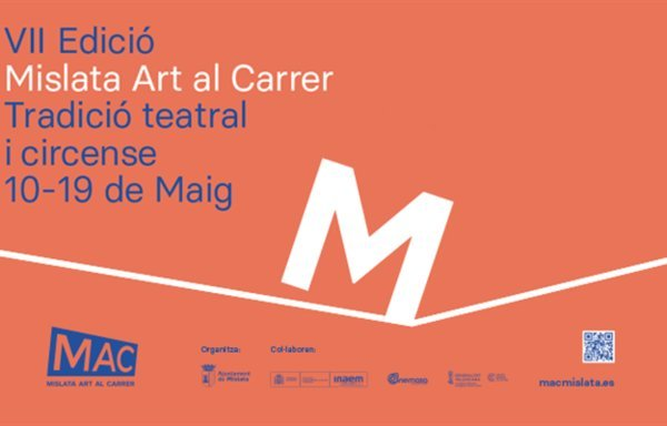Cartel del festival MAC Mislata