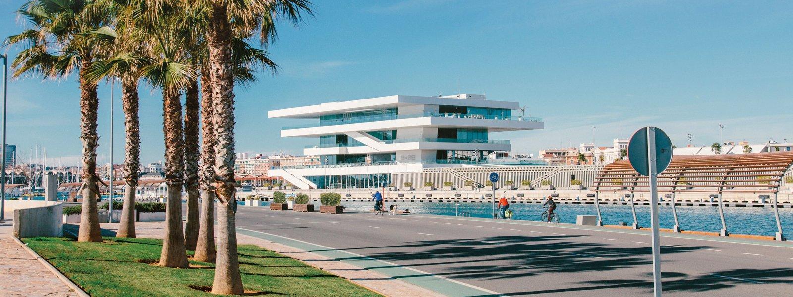 La Marina de València, localització per a la representació d'espectacles
