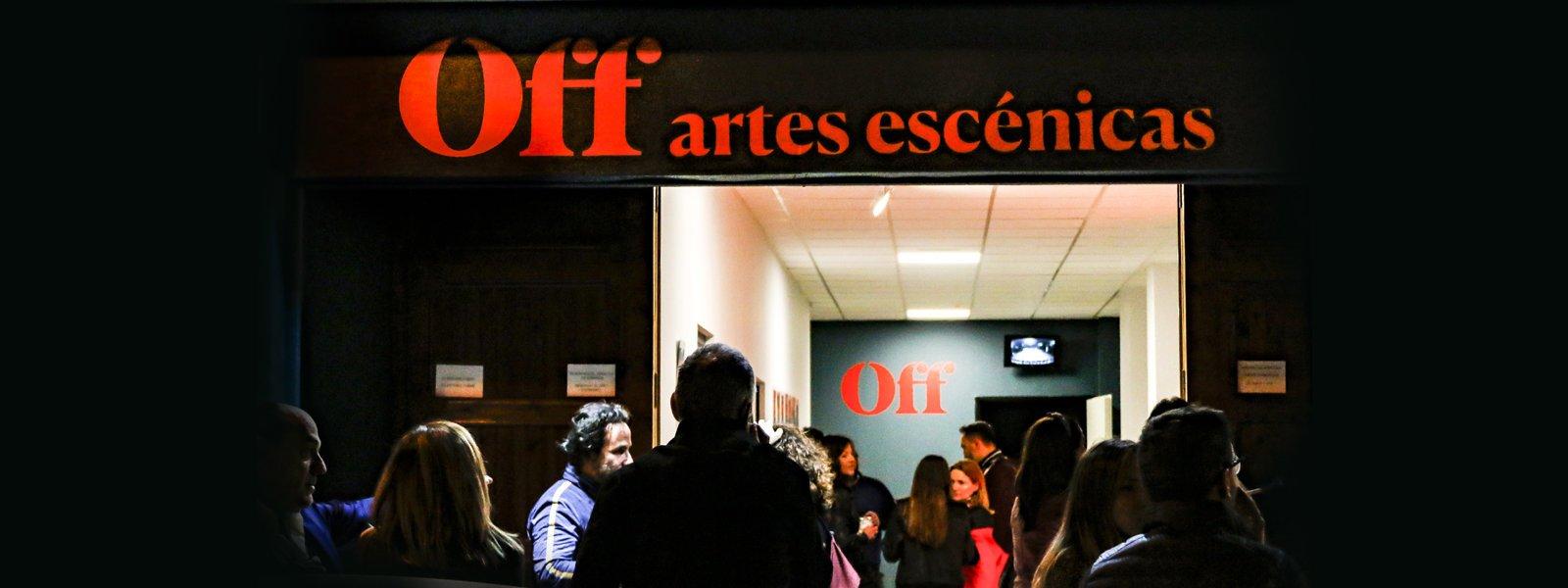 Sala OFF, localització per a la representació d'espectacles