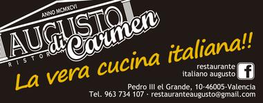Restaurante Augusto di Carmen. Valencia