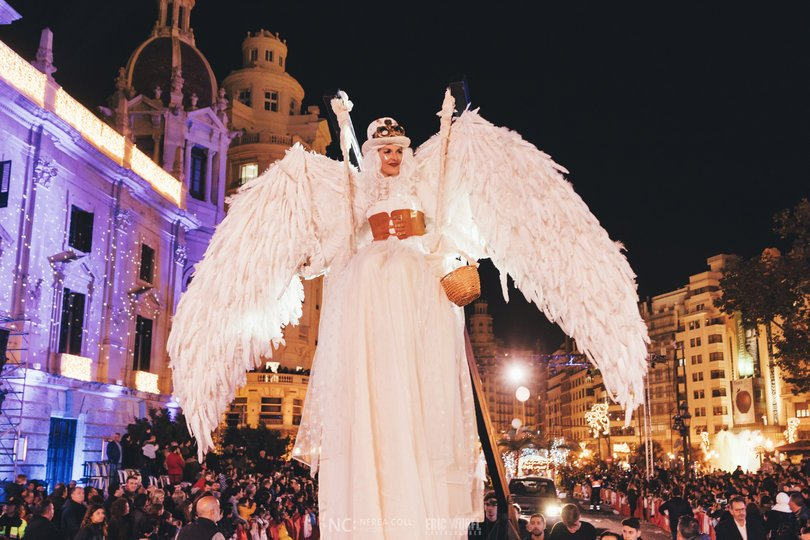 Image 14 of the Cabalgata Reyes Magos 2020 gallery