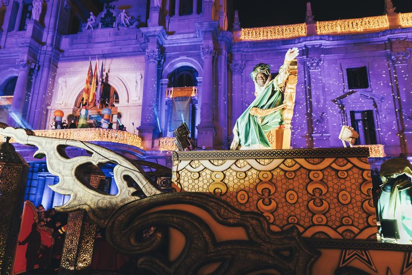 Image 5 of the Cabalgata Reyes Magos 2020 gallery