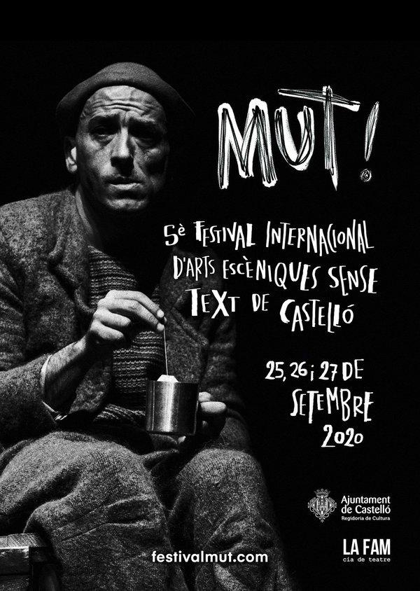 MUT! Festival festival poster