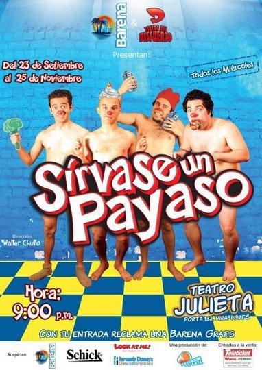 Image gallery 1: Sirvase Un Payaso