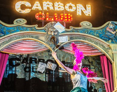 Cover image of the show: Carbón Club