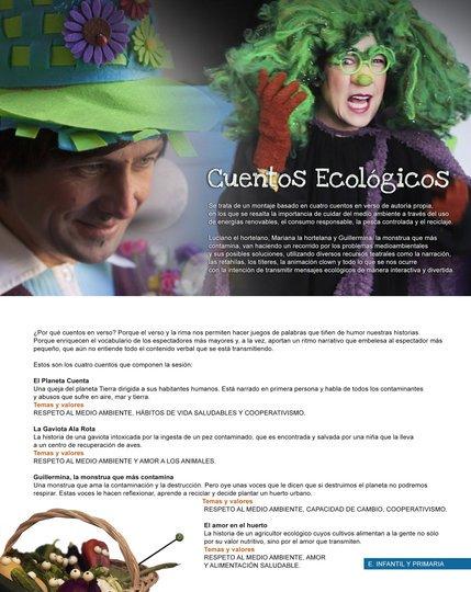 Image gallery 1: Cuentos Ecológicos