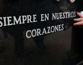 El funeral de Raúl Molero
